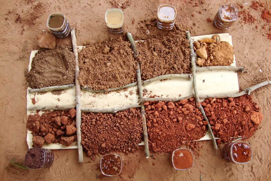 Different types of soil are displayed.
