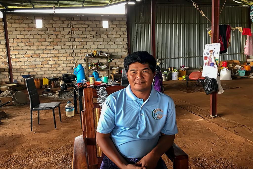 Myanmar Input Shop Owner