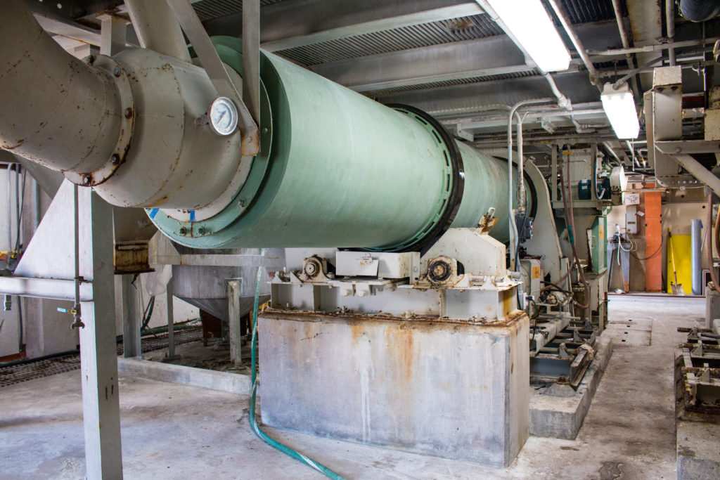 Process Cooler of the Large Scale Pilot Plant