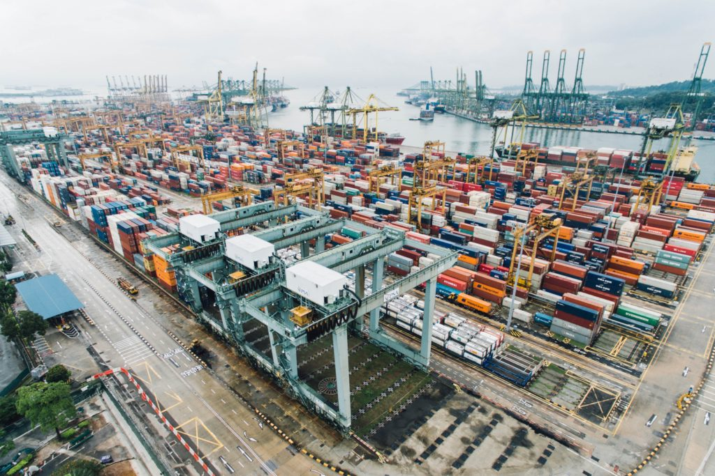 Photo of an African Port