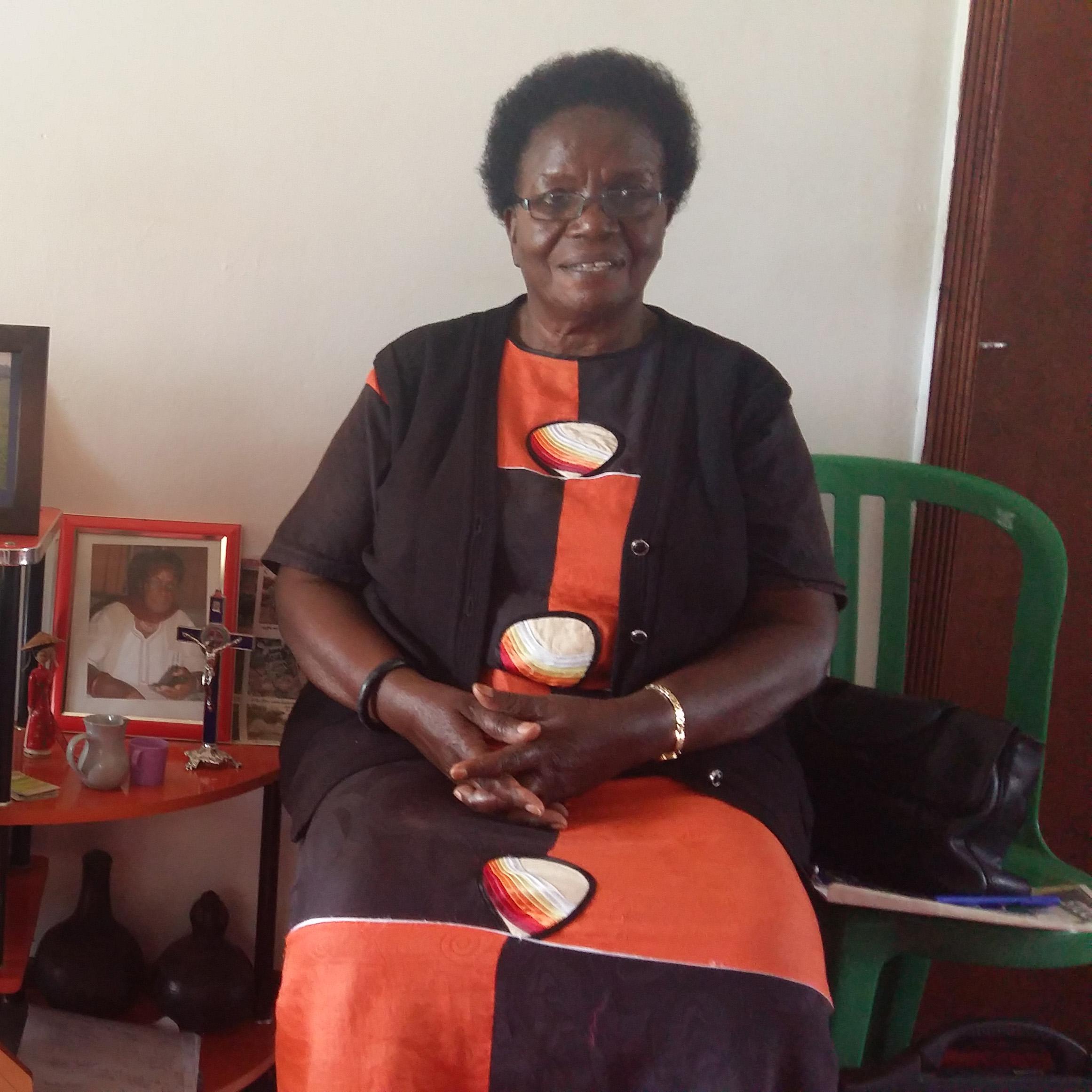 Portrait of. Ms Philomina K Nshangano, MD of R Rubyerwa Dairy Investments Ltd (RDI)