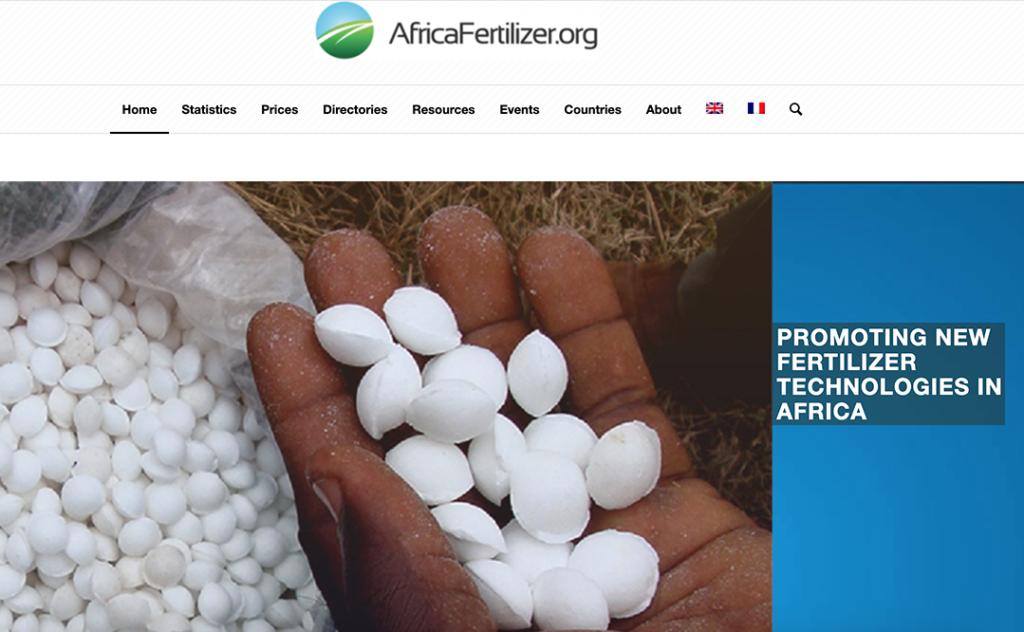 Screenshot of the AFO Website