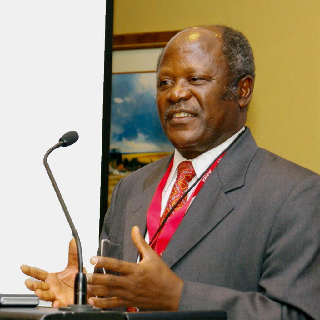 Dr Namanga Ngongi speaking at an event