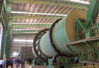 inside a fertilizer factory