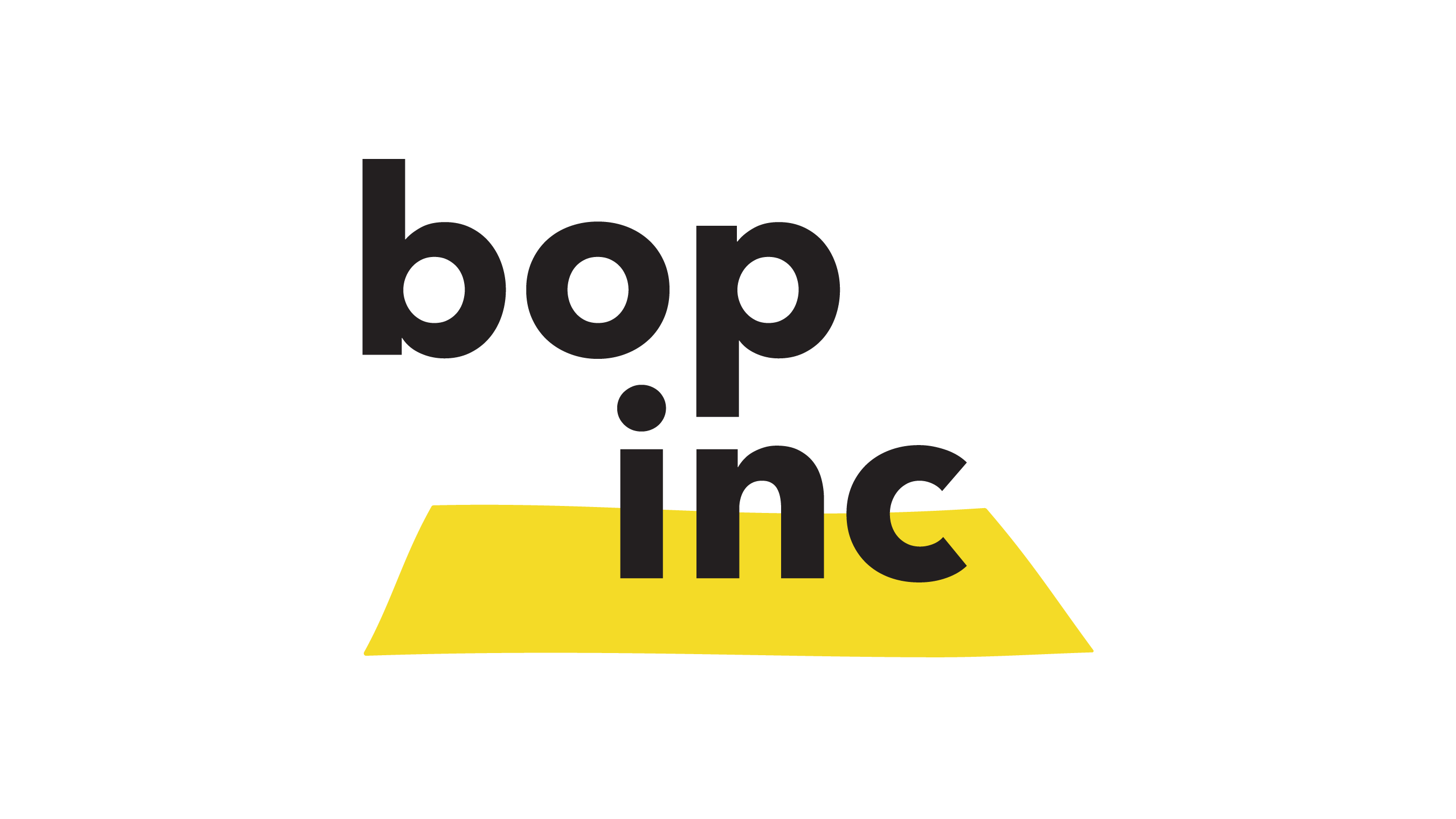 bopinc logo in yellow