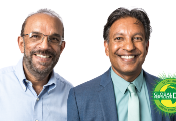 Dr. Upendra Singh (pictured left) and Dr. Prem Bindraban (pictured right)